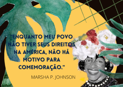 Marsha ecoa – Amanda da Silva Santos