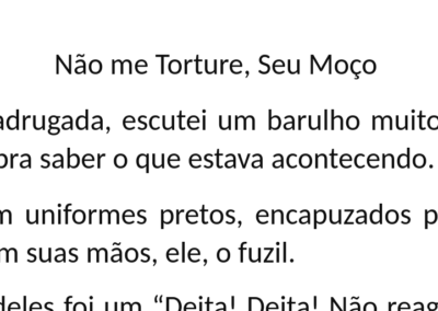 Alexandra Rodrigues – Não me Torture, Seu Moço