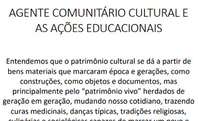 Jéssica de Siqueira Selva Real Barreiro – Agente Comunitário Cultural e Ações Educacionais