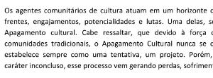 Tamyres Batista – Notas sobre o apagamento cultural e outras resistências possíveis