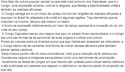 Julia Dias Nobre – O congo